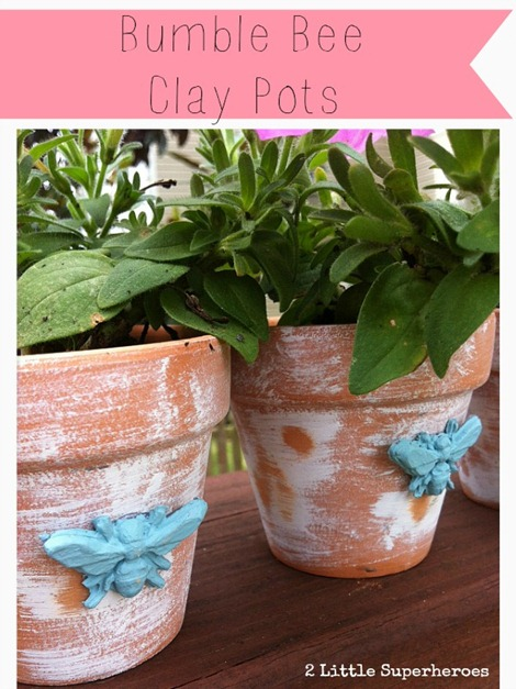 bumble-bee-clay-pots