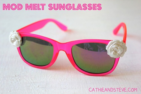 mod melt sunglasses