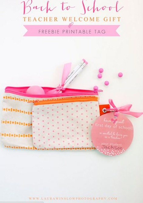 Back to School Tags by Laura Winslow