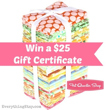 Fabric Giveaway @EverythingEtsy