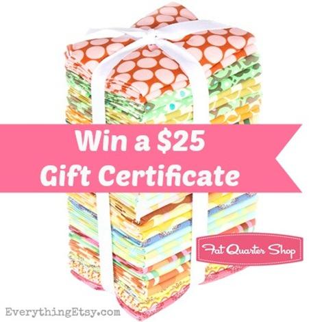 Fabric Giveaway @EverythingEtsy