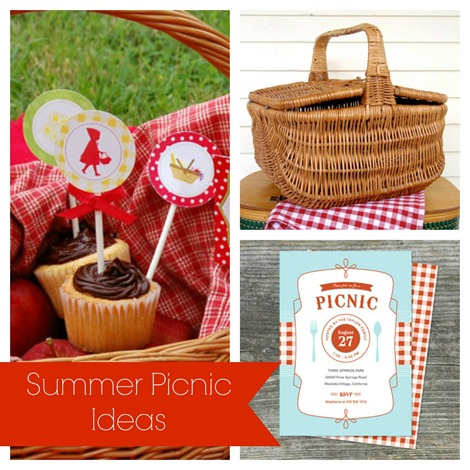 Summer Picnic Ideas {Etsy Love}