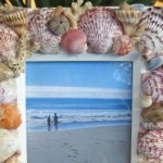 Shell Frame Tutorial & Tips {Handmade Gift}