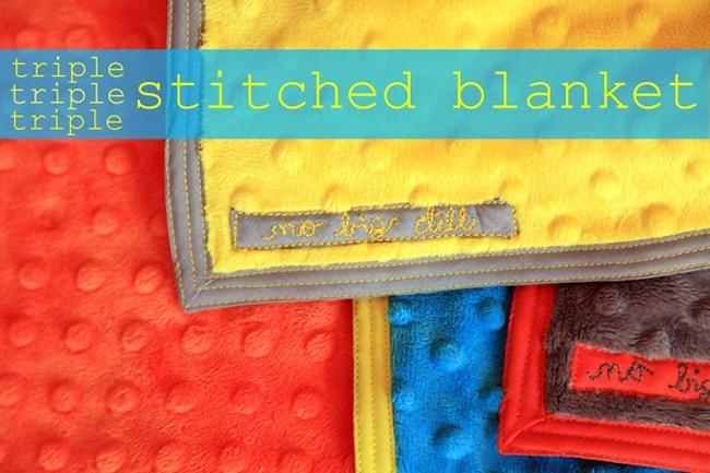 Baby Blanket Pattern - Delia Creates