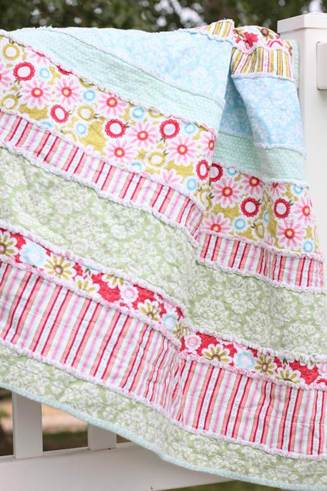Baby Blanket Pattern - Rag Quilt