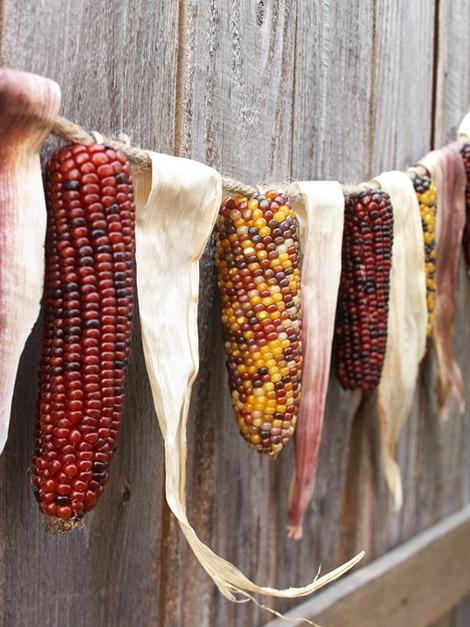 Corn and Husk Garland