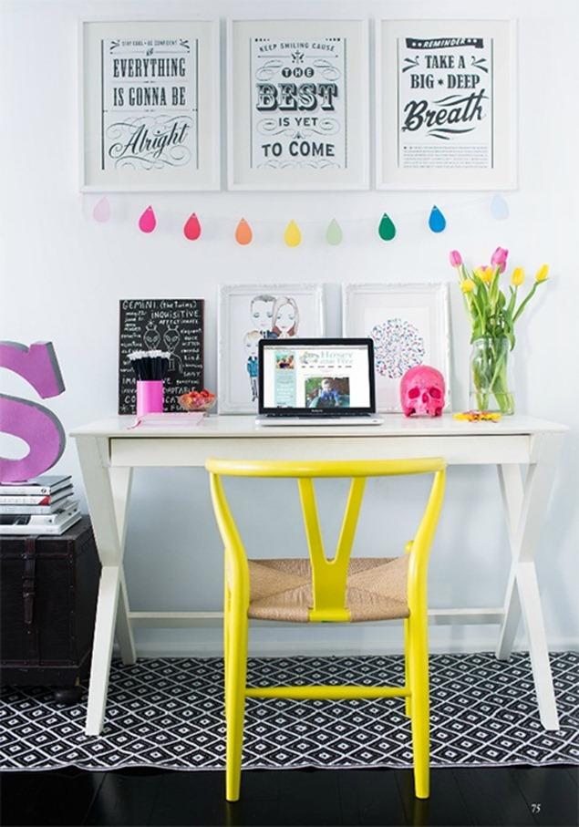 bright workspace