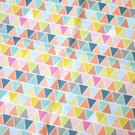 geometric fabric on etsy