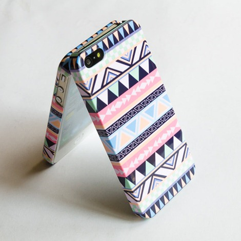 geometric phone case on Etsy