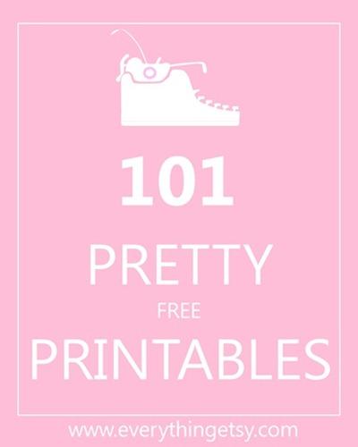 101 Free Printables