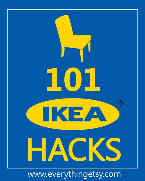 101 Ikea Hacks...you have to try some of these!  @EverythingEtsy
