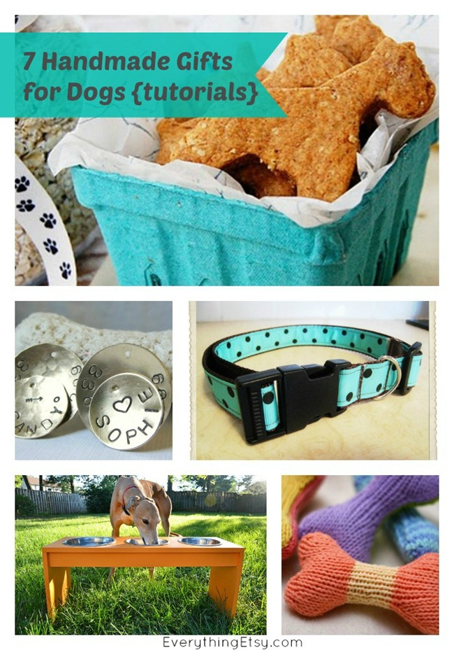 7 Handmade Gifts for Dogs {tutorials} on EverythingEtsy.com