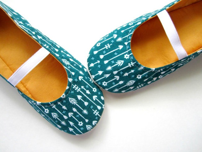 Arrow Fabric Slippers - Etsy