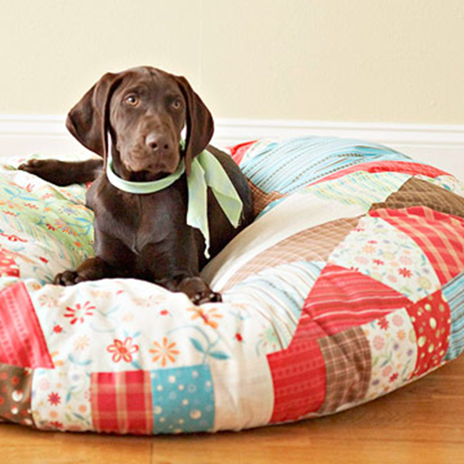 DIY Dog Bed - BHG