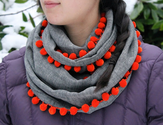 DIY Scarf Pattern - Crown Hill