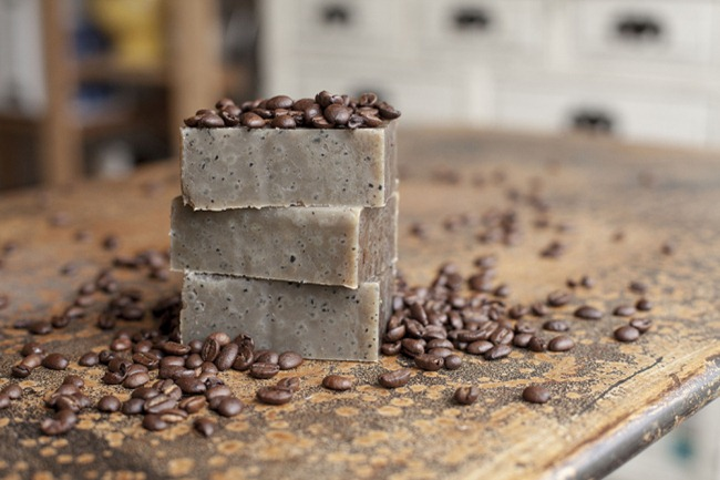 DIY Soap Recipe - Coffee