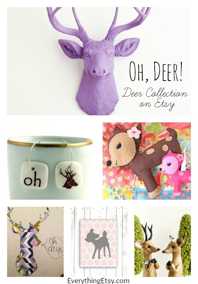 Deer Collection on Etsy - EverythingEtsy.com