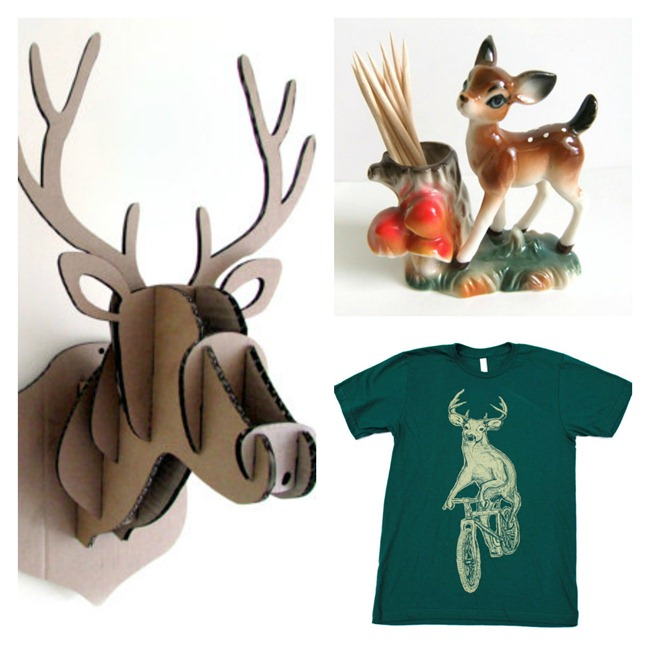 Deer Collection on Etsy