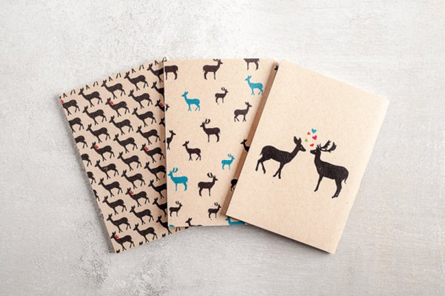 Deer Notebooks on Etsy - Hamutelet