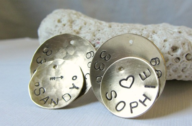 Handmade Dog Tags - DIY - Eagle Rowe