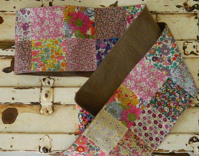 Patchwork Scarf DIY - Sew HomeGrown