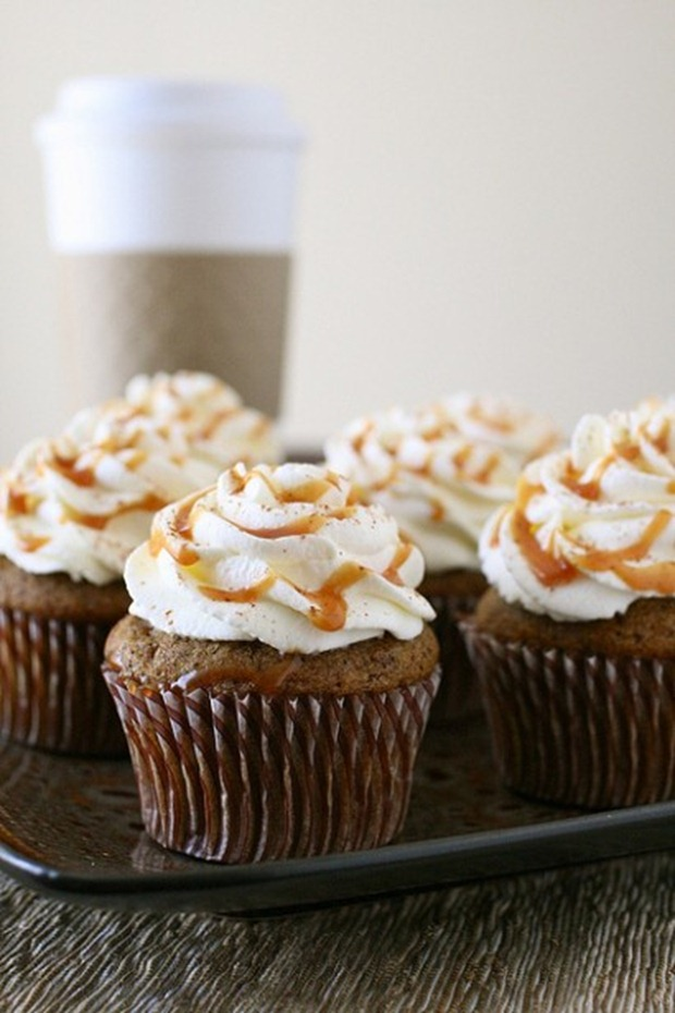 Pumpkin Spice Latte Cupcake Recipe