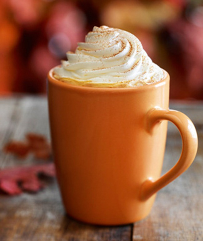 ... be creative on a fall afternoon? I do. It's a Pumpkin Spice Latte