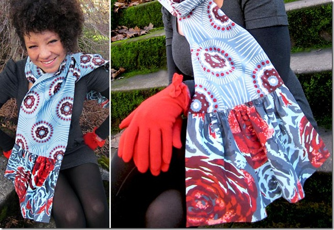 Ruffled Scarf Pattern - Sew4Home