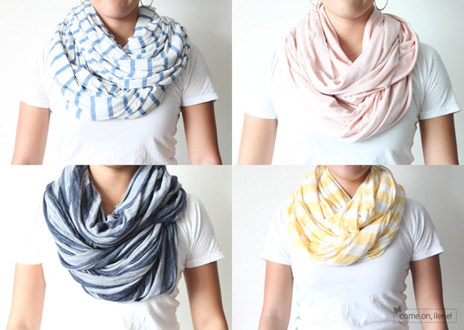 circle scarf diy - Come on Ilene