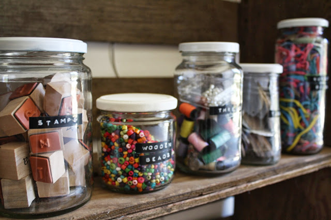 organize your craft supplies - margeauxcotton