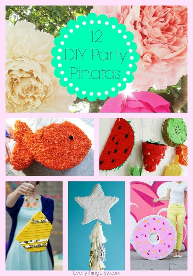 12 DIY Party Pinatas - EverythingEtsy.com