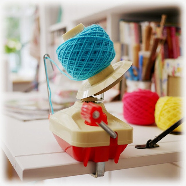 Craft Room Inspiration - Mary Jane's Tea Room - Yarn
