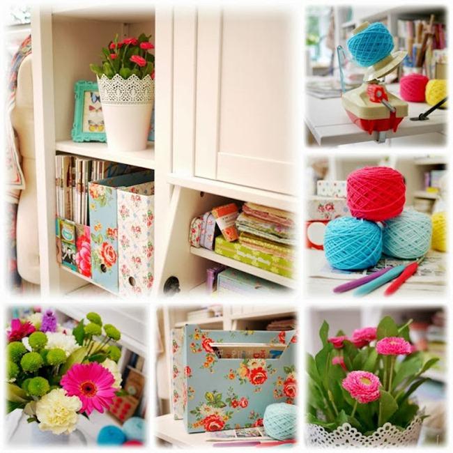 Craft Room Inspiration - Mary Jane's Tea Room