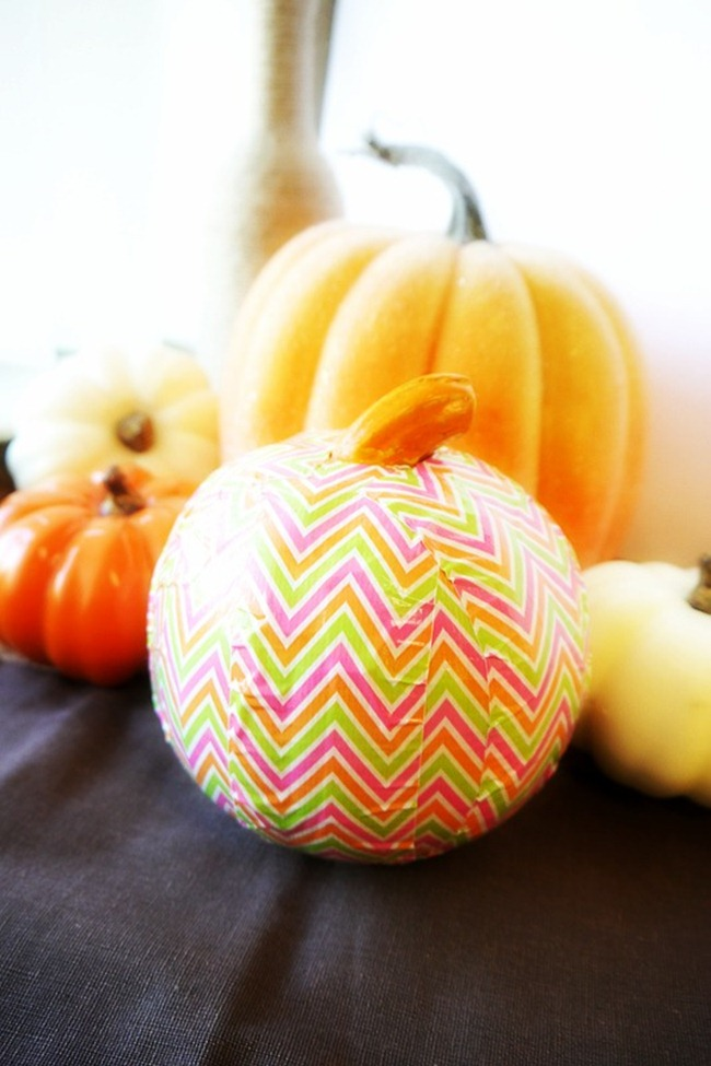 Duck Tape Brand Pumpkin - Everything Etsy