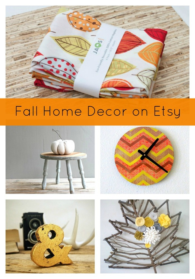 Fall Home Decor On Etsy