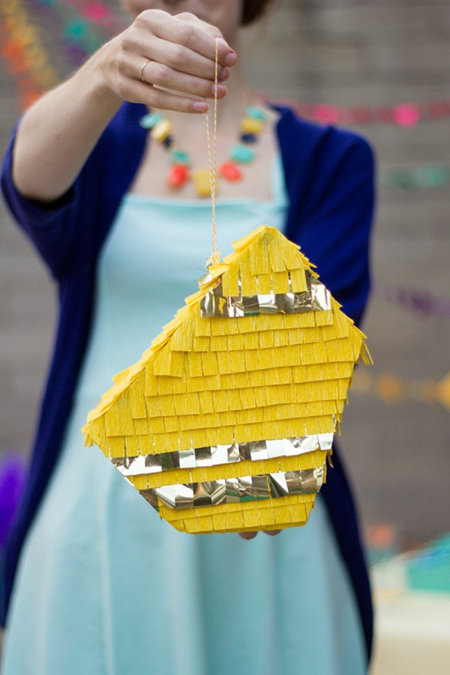 Geometric Pinata - DIY Party