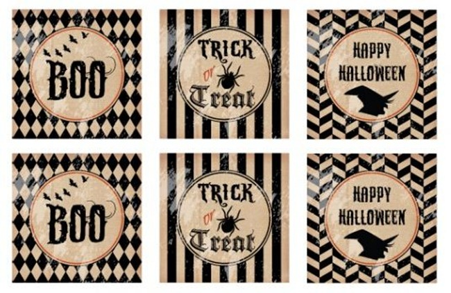 Halloween Party Printable Set - Catch My Party