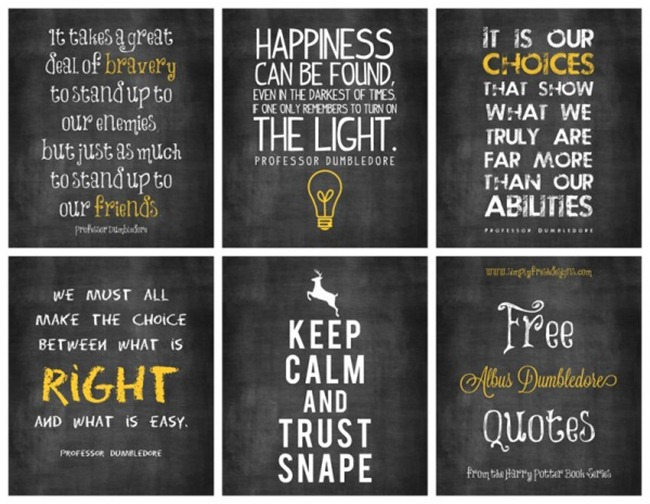 Intrepid image for harry potter decorations printable