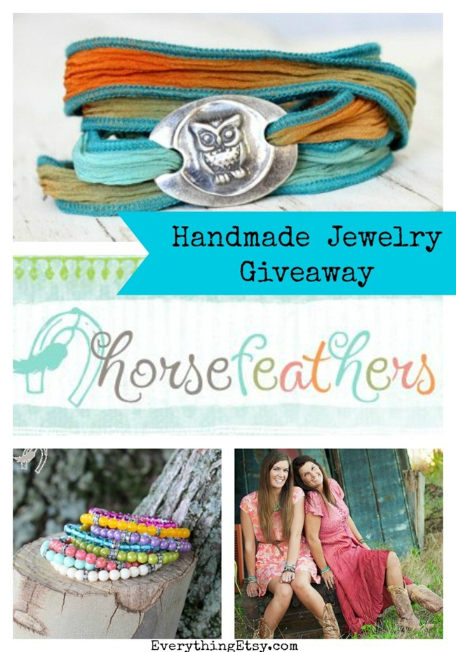 Horsefeathers Jewelry Giveaway - Enter to Win at EverythingEtsy.com
