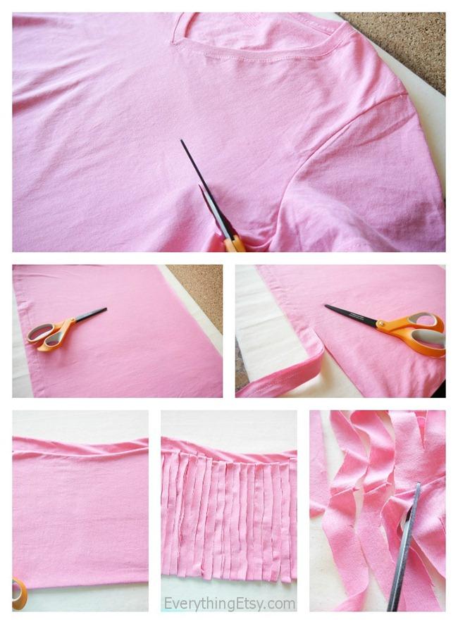 Making T-Shirt Yarn - EverythingEtsy.com