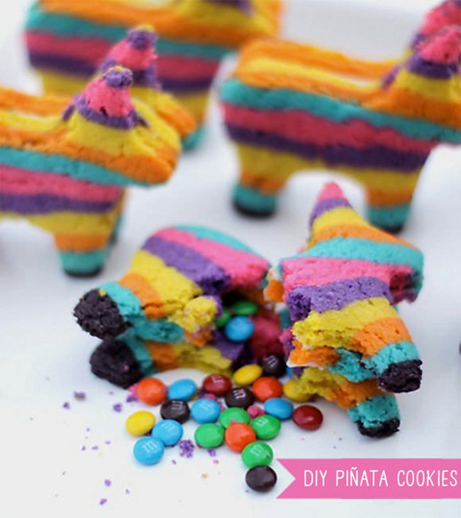 Pinata Cookies - DIY Party