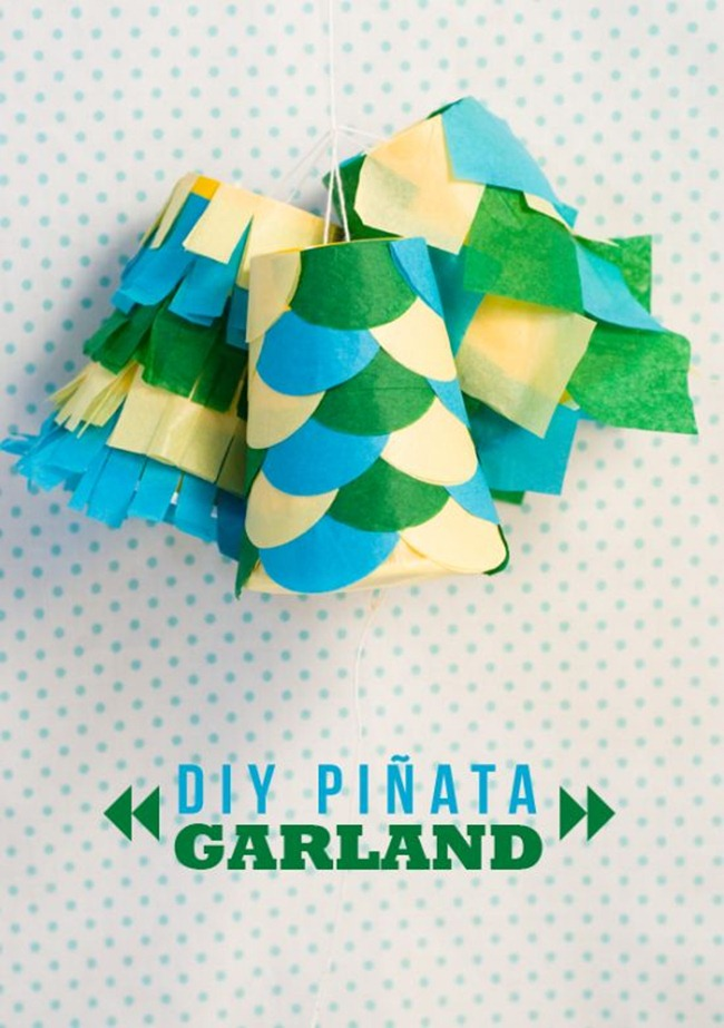 Pinata Garland - DIY Party