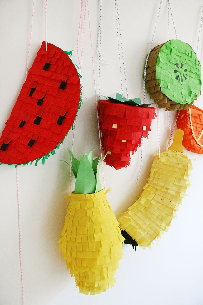 Pinatas - Fruit - DIY Party