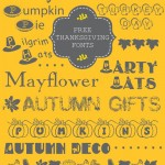 10 Thanksgiving Fonts {free}