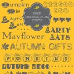 10 Thanksgiving Fonts {free}