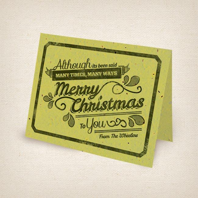 Botanical PaperWorks Vintage Holiday Cards