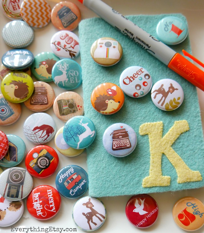 Buttons & Badges Giveaway