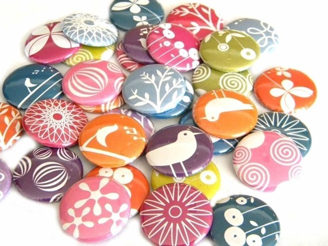 Buttons & Badges - modern