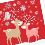 Christmas Card Printable - so deer