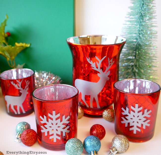 Christmas Crafts DIY projects on EverythingEtsy.com